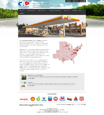 CrossAmerica Partners LP Website Screenshot