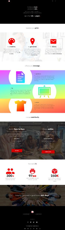 Champion Industries  Website Screenshot
