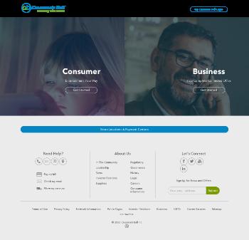 Cincinnati Bell Inc. Website Screenshot