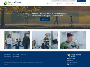 SouthCrest Financial Group, Inc. Website Screenshot