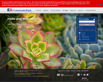 CBTX, Inc. Website Screenshot