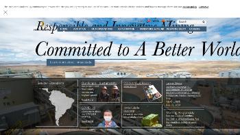Hochschild Mining plc Website Screenshot