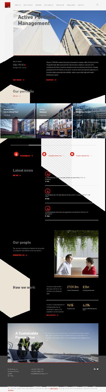 CLS Holdings plc Website Screenshot