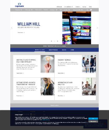 Computacenter plc Website Screenshot
