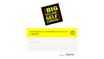 Big Yellow Group Plc Website Screenshot