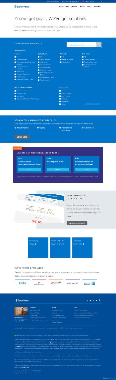 Eaton Vance California Municipal Income Trust Website Screenshot