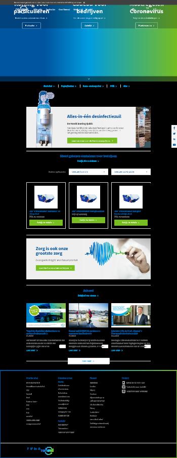 Renewi plc Website Screenshot