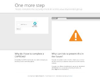 Studio Retail Group plc Website Screenshot