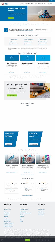 Fidelity Asian Values PLC Website Screenshot