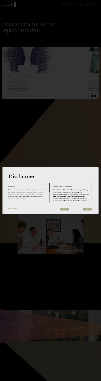 Majedie Investments PLC Website Screenshot