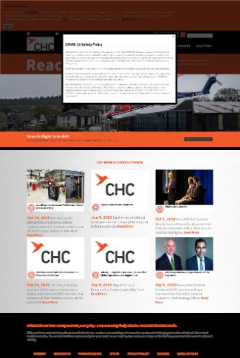 CHC Group LLC Website Screenshot