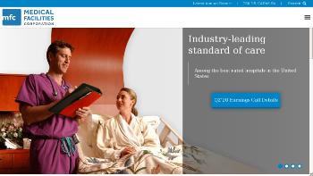 Medical Facilities Corporation Website Screenshot