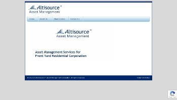 Altisource Asset Management Corporation Website Screenshot