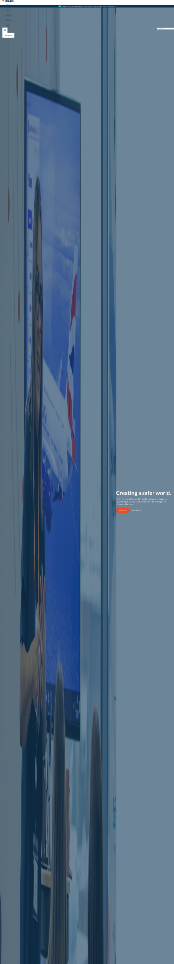 Ideagen plc Website Screenshot