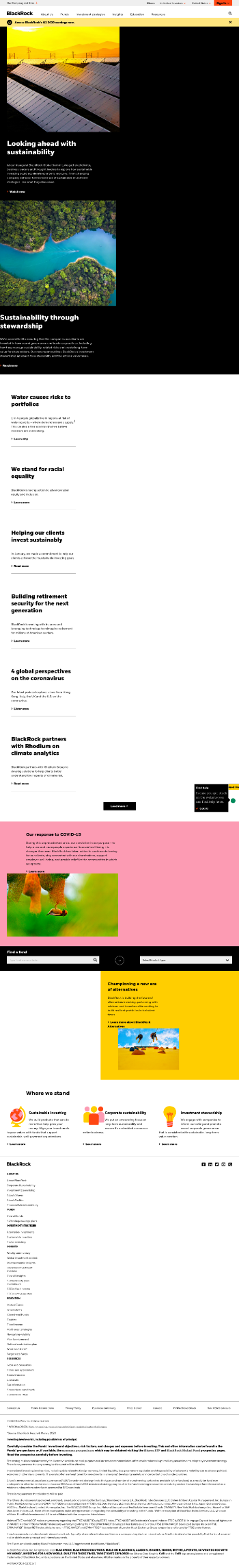 BlackRock Enhanced Capital and Income Fund, Inc. Website Screenshot