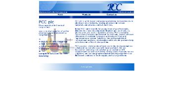 PCCW Limited Website Screenshot