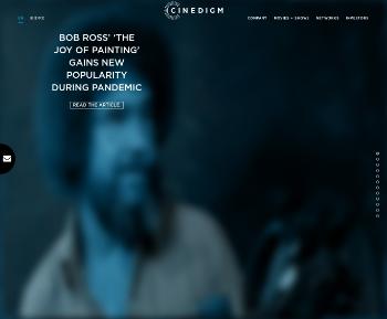 Cinedigm Corp. Website Screenshot