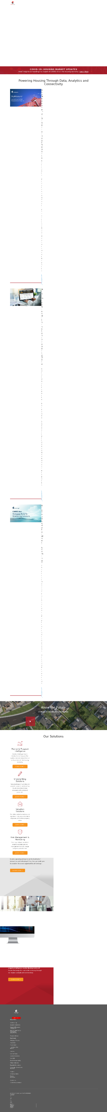 CoreLogic, Inc. Website Screenshot