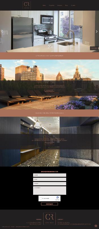 Clipper Realty Inc. Website Screenshot