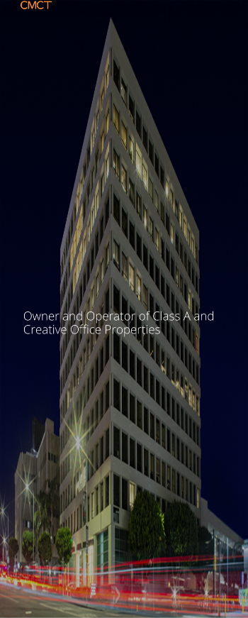 CIM Commercial Trust Corporation Website Screenshot