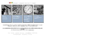 Cross Timbers Royalty Trust Website Screenshot