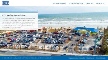 CTO Realty Growth, Inc. Website Screenshot