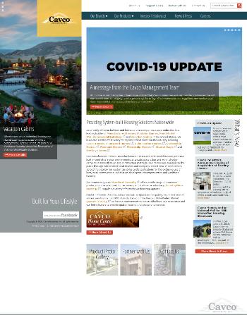 Cavco Industries, Inc. Website Screenshot