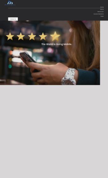 dMY Technology Group, Inc. Website Screenshot