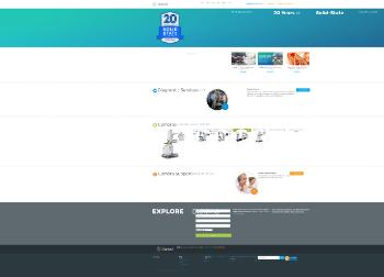 Digirad Corporation Website Screenshot
