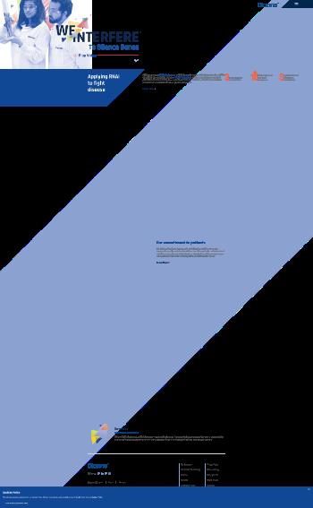 Dicerna Pharmaceuticals, Inc. Website Screenshot