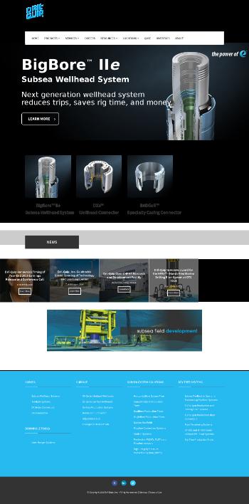 Dril-Quip, Inc. Website Screenshot
