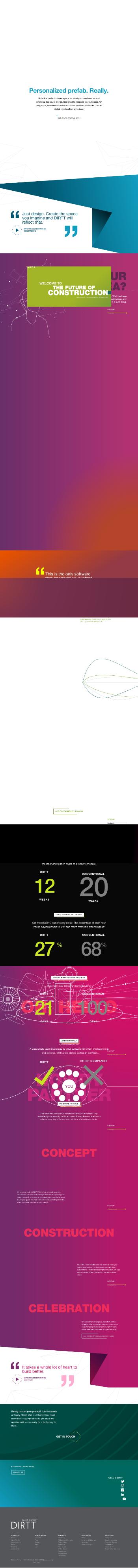 DIRTT Environmental Solutions Ltd. Website Screenshot