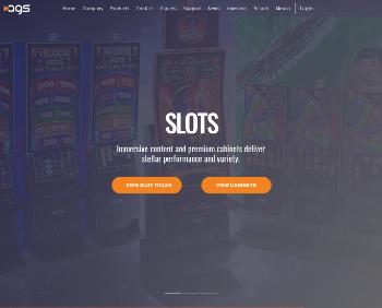 PlayAGS, Inc. Website Screenshot