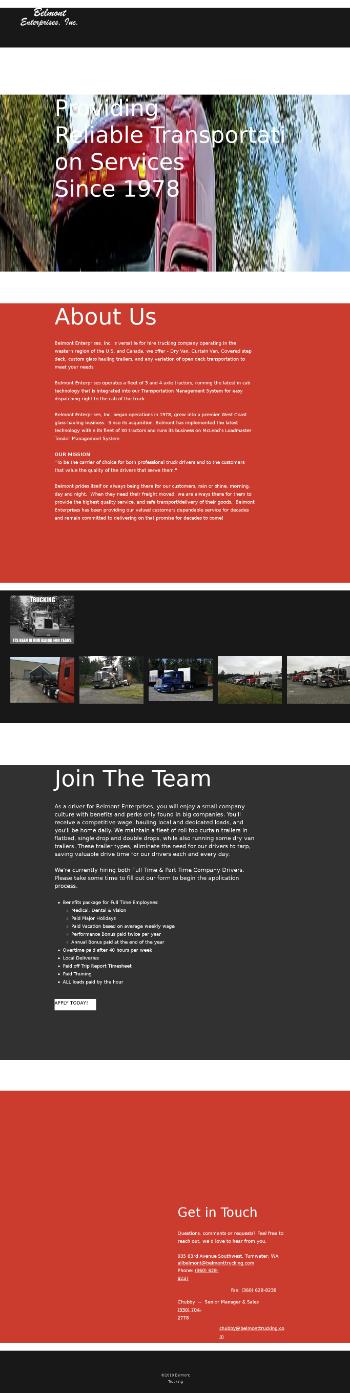 Daseke, Inc. Website Screenshot