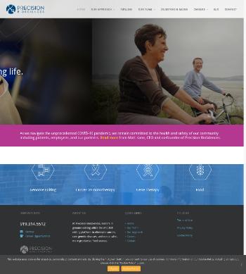 Precision BioSciences, Inc. Website Screenshot