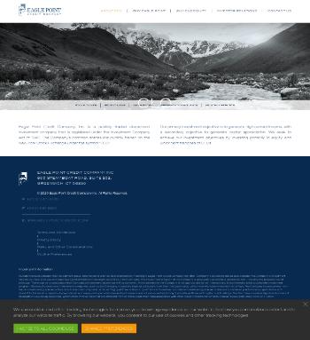 Eagle Point Credit Company Inc. Website Screenshot