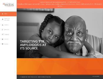 Eidos Therapeutics, Inc. Website Screenshot