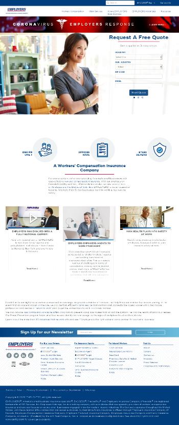Employers Holdings, Inc. Website Screenshot