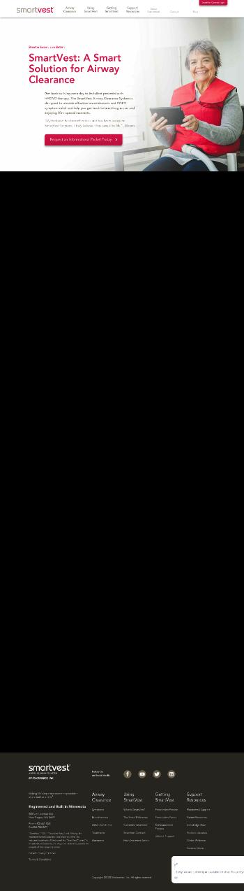Electromed, Inc. Website Screenshot