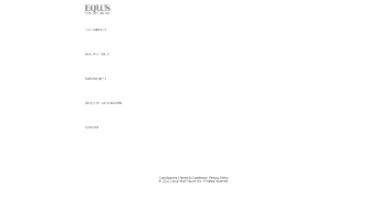 Equus Total Return, Inc. Website Screenshot