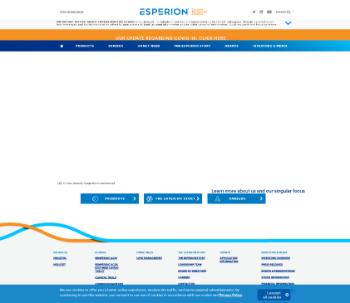 Esperion Therapeutics, Inc. Website Screenshot