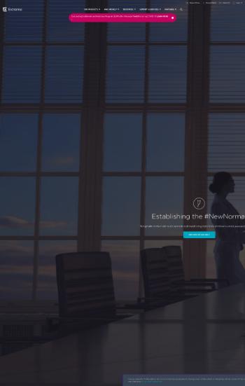 Extreme Networks, Inc. Website Screenshot