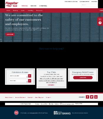 Flagstar Bancorp, Inc. Website Screenshot