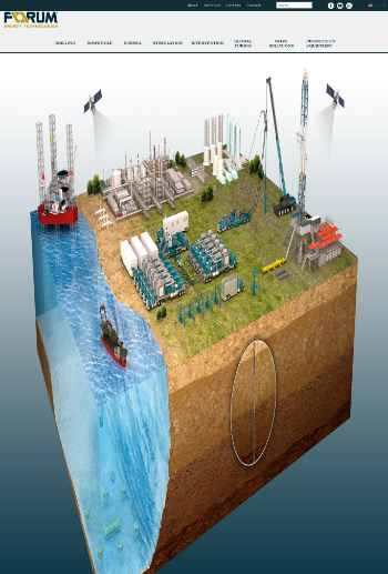 Forum Energy Technologies, Inc. Website Screenshot