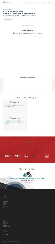 FireEye, Inc. Website Screenshot