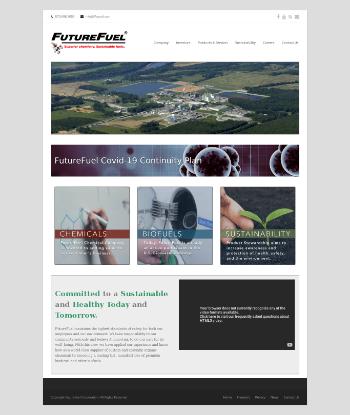 FutureFuel Corp. Website Screenshot