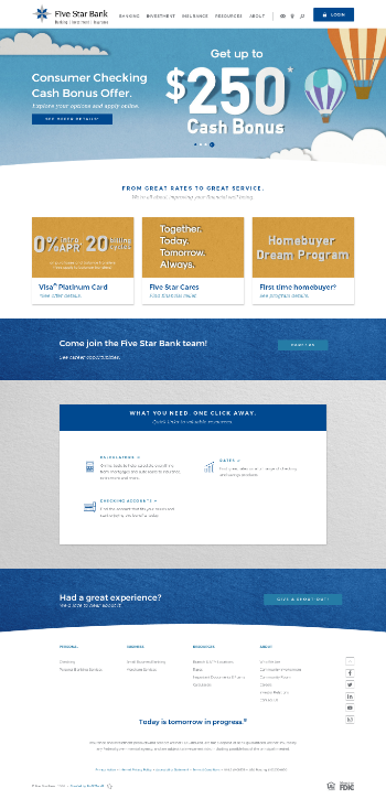 Financial Institutions, Inc. Website Screenshot