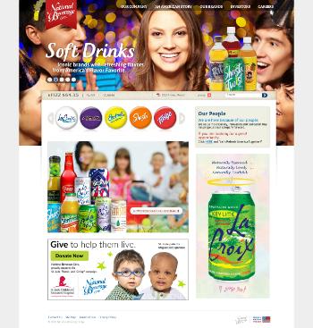 National Beverage Corp. Website Screenshot