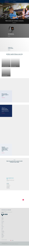 Fitbit, Inc. Website Screenshot