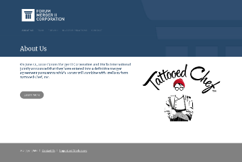 Forum Merger II Corporation Website Screenshot